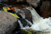 Kayaker in Colorado